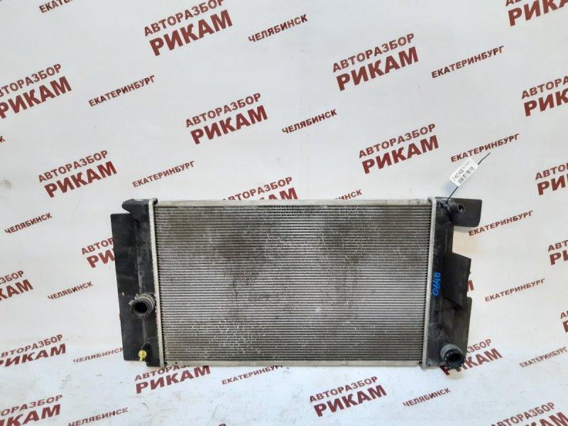 Радиатор охлаждения Toyota Corolla ZRE152 2ZR-FE 2011