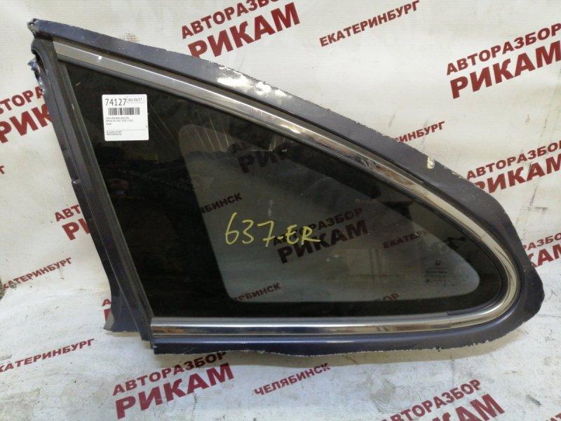 Стекло кузова боковое Honda Cr-V RE7 K24Z1 2010 заднее левое