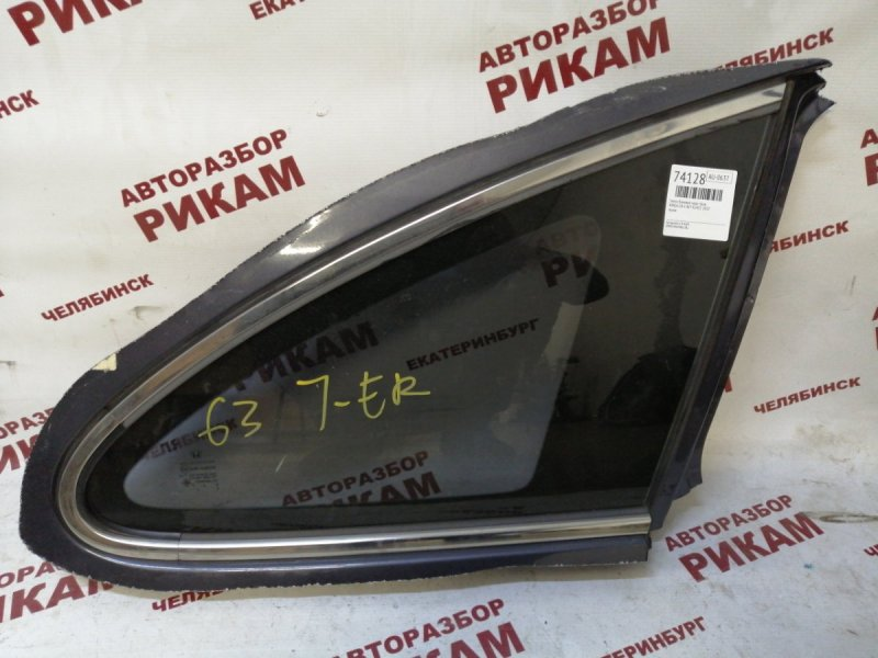Стекло кузова боковое Honda Cr-V RE7 K24Z1 2010 заднее правое