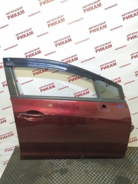 Дверь Honda Civic FB2 R18Z1 2012 передняя правая
