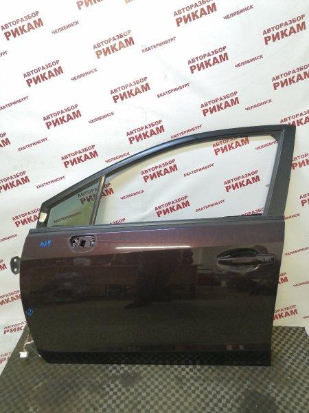 Дверь Subaru Xv GP7 FB20A 2013 передняя левая