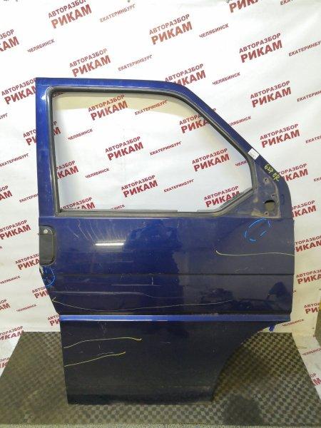 Дверь Volkswagen Caravelle 7DK AET 2002 передняя правая