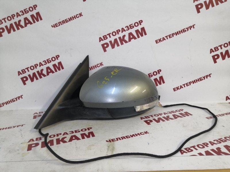 Зеркало Skoda Yeti 5L CFHC 2011 левое