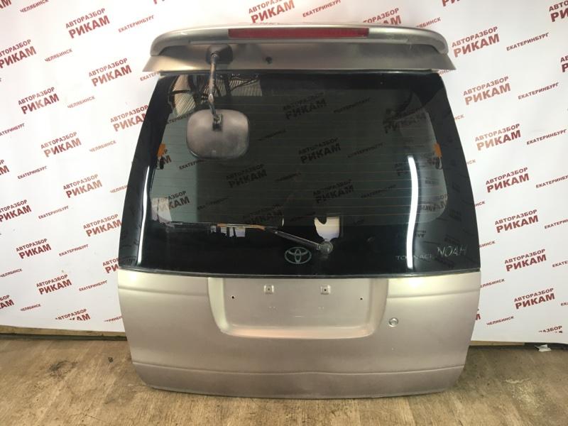 Дверь багажника Toyota Town Ace Noah SR50 3S-FE 2000 задняя