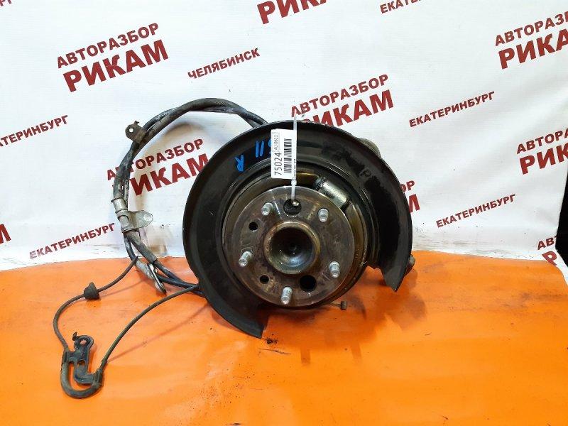 Ступица Toyota Camry ACV40 2AZ-FE 2011 задняя правая
