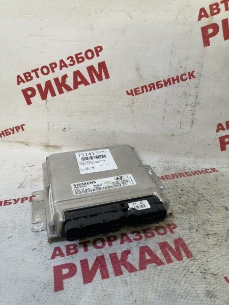Блок управления Hyundai Elantra XD G4GC 2006