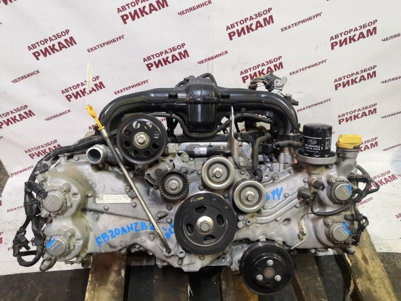 Двигатель Subaru Xv GP7 FB20A 2013