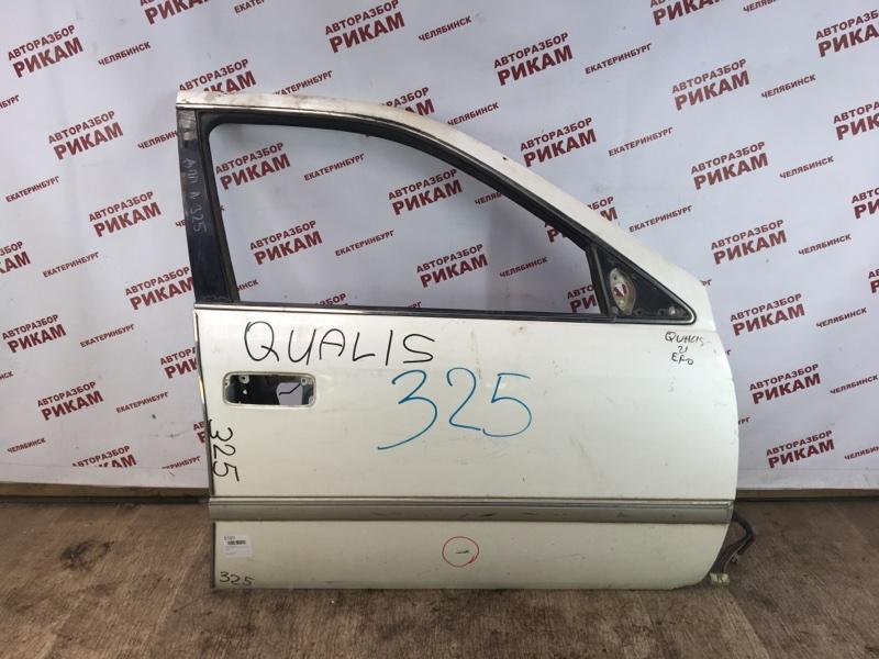 Дверь Toyota Mark Ii Wagon Qualis MCV20 передняя правая