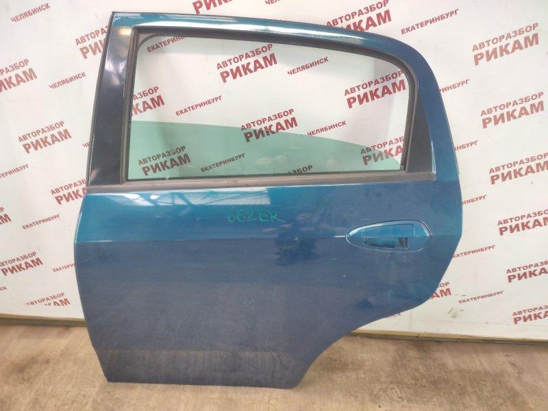 Дверь Fiat Punto 199 350A1000 2013 задняя левая