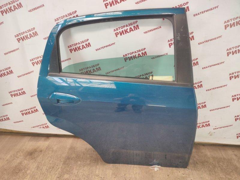 Дверь Fiat Punto 199 350A1000 2013 задняя правая