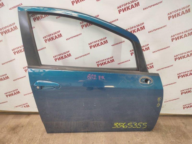 Дверь Fiat Punto 199 350A1000 2013 передняя правая