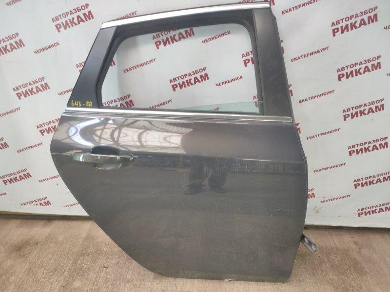 Дверь Opel Astra J 68 A14NET 2012 задняя правая