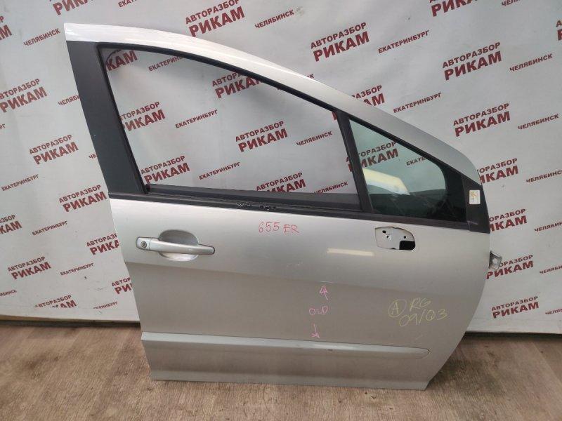 Дверь Peugeot 308 4A EP6DT 2009 передняя правая