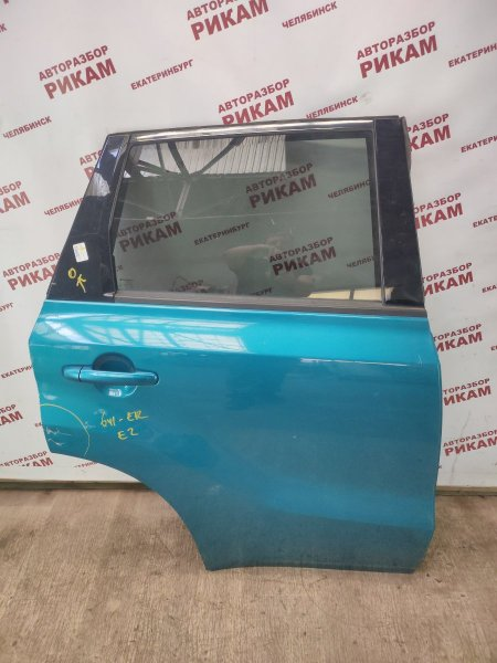 Дверь Suzuki Vitara LY M16A 2018 задняя правая