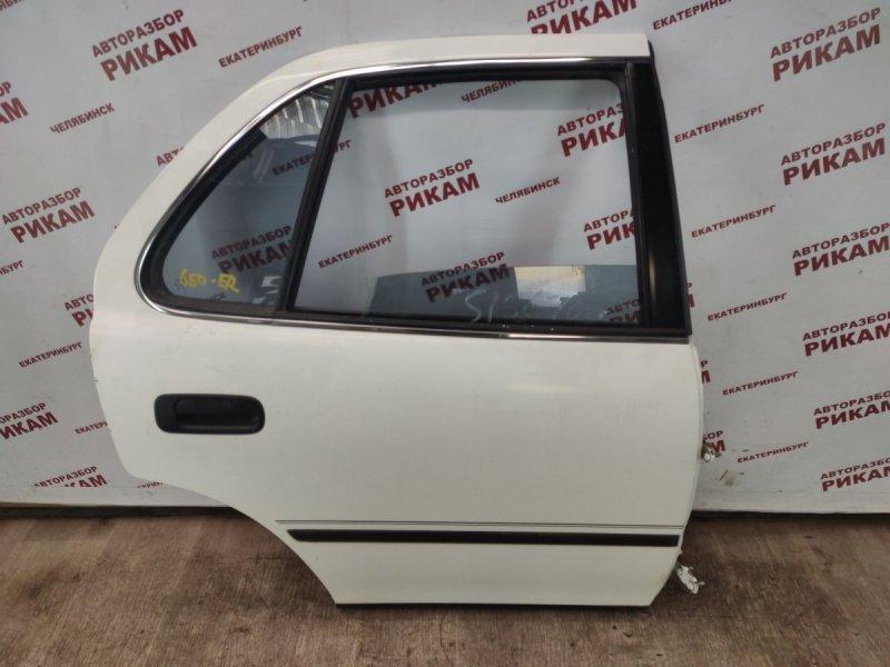 Дверь Toyota Camry SXV10 5S-FE 1996 задняя правая