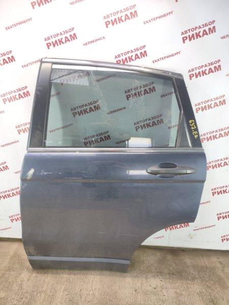 Дверь Honda Cr-V RE7 K24Z1 2010 задняя левая