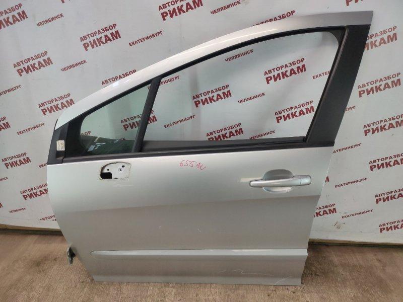 Дверь Peugeot 308 4A EP6DT 2009 передняя левая