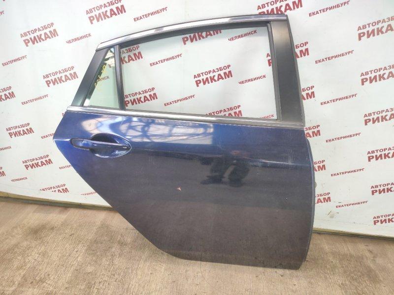 Дверь Mazda Mazda6 GH L5-VE 2010 задняя правая