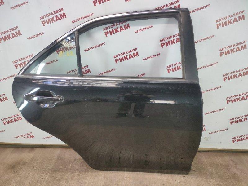 Дверь Toyota Camry ACV40 2AZ-FE 2011 задняя правая