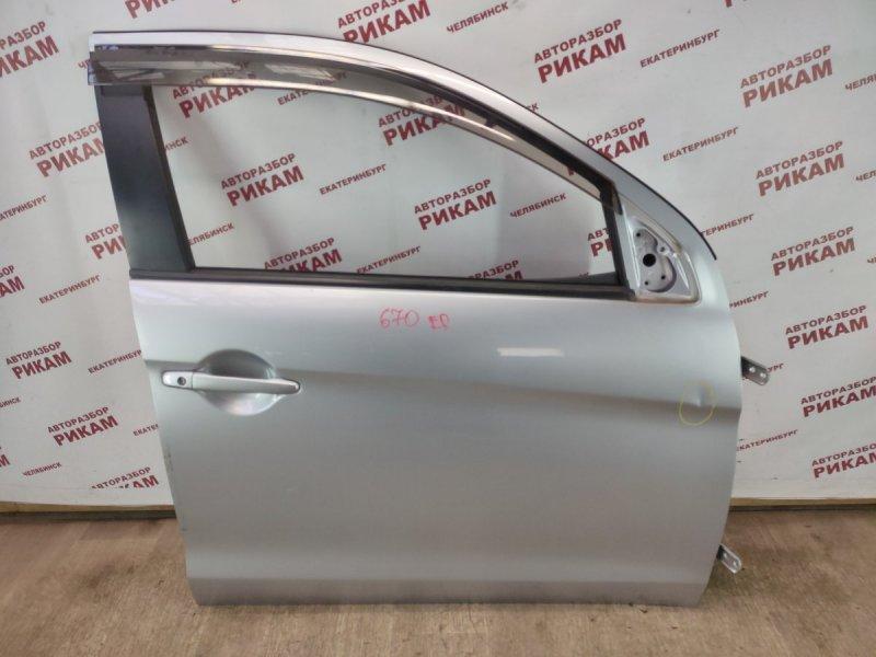 Дверь Mitsubishi Asx GA2W 4B11 2011 передняя правая