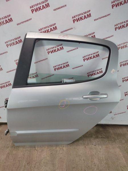 Дверь Peugeot 308 4A EP6DT 2009 задняя левая