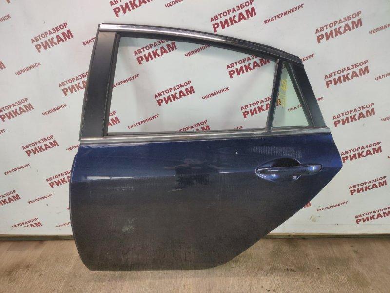 Дверь Mazda Mazda6 GH L5-VE 2010 задняя левая
