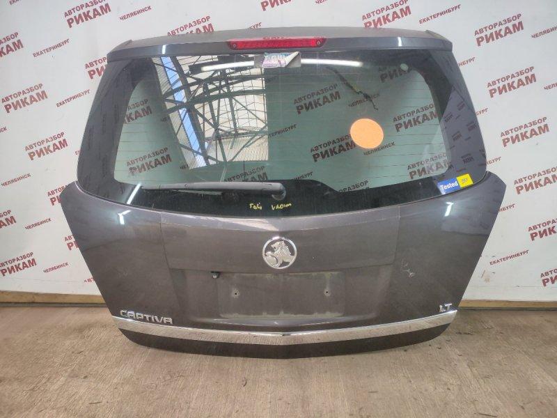 Дверь багажника Opel Antara L07 LE9 2015