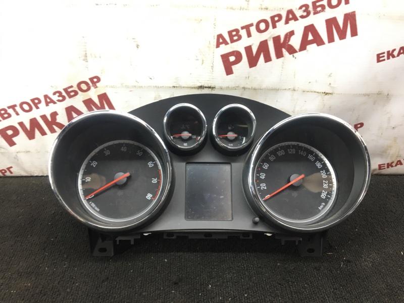 Панель приборов Opel Astra J 68 A14NET 2012