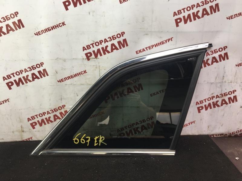 Стекло кузова боковое Opel Antara L07 LE9 2015 заднее правое