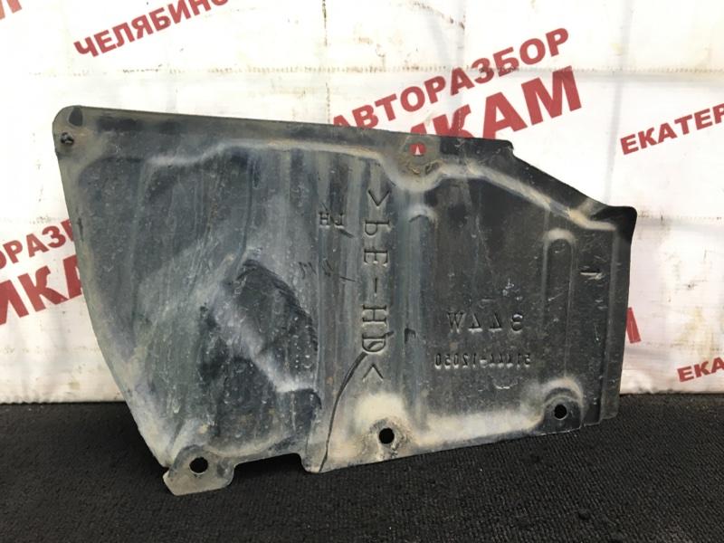 Защита двигателя Toyota Corolla ZRE152 2ZR-FE 2011 левая