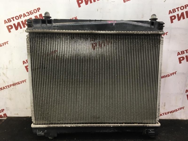 Радиатор охлаждения Toyota Yaris NCP90 2NZ-FE 2009