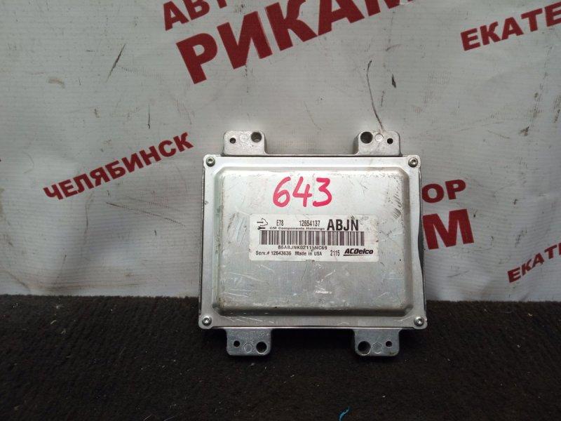 Блок управления Opel Astra J 68 A14NET 2012