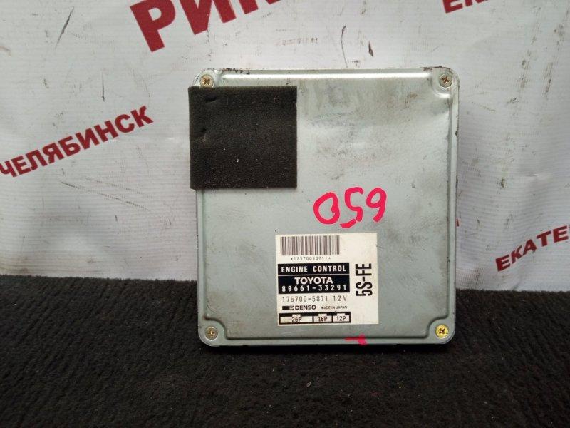 Блок управления Toyota Camry SXV10 5S-FE 1996