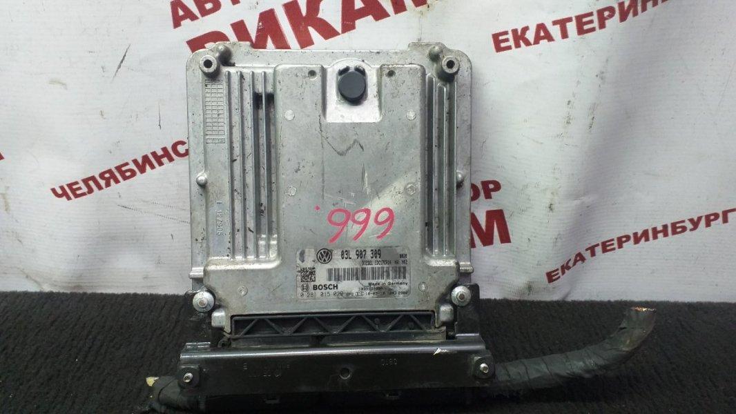Блок управления Volkswagen Passat Cc 358 CBBB 2010
