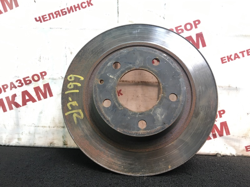 Диск тормозной Mazda Mazda6 GH L5-VE 2010 задний