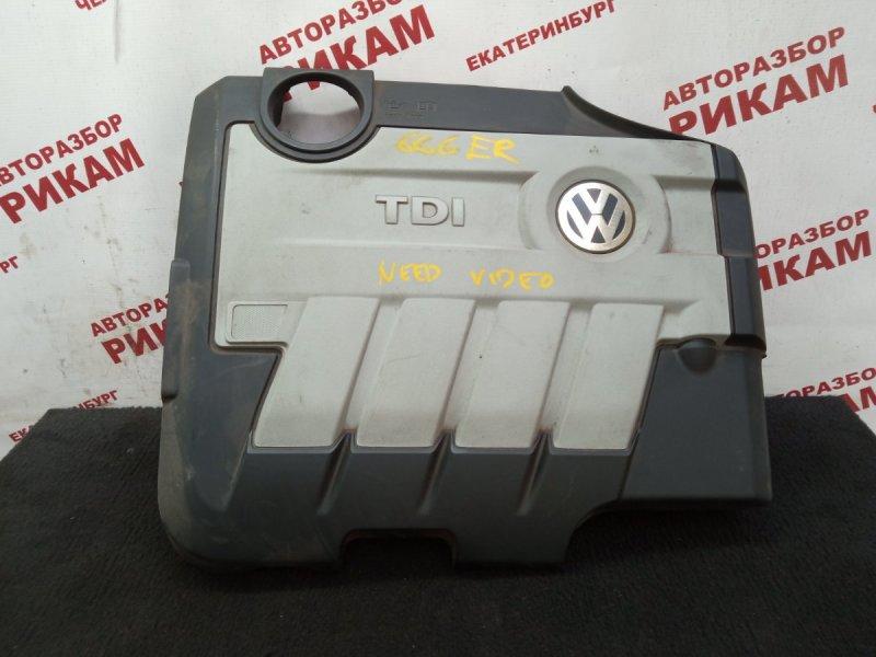 Декоративная крышка двс Volkswagen Passat Cc 358 CBBB 2010