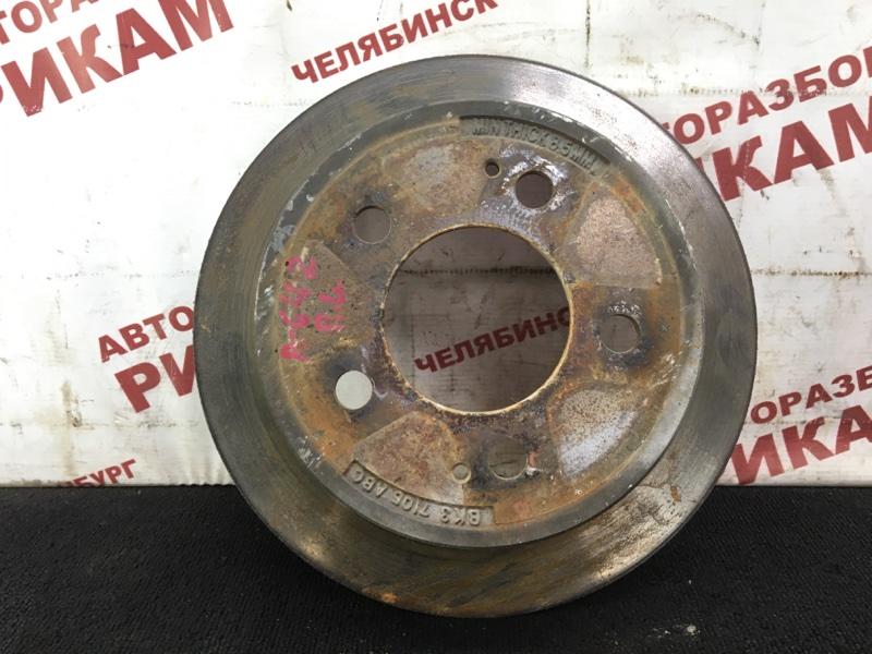 Диск тормозной Ssangyong Rexton RJN D27DT 2007 задний