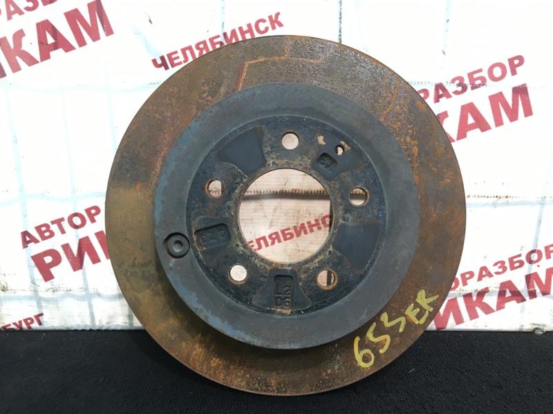 Диск тормозной Mazda Cx-7 ER19 L5-VE 2010 задний