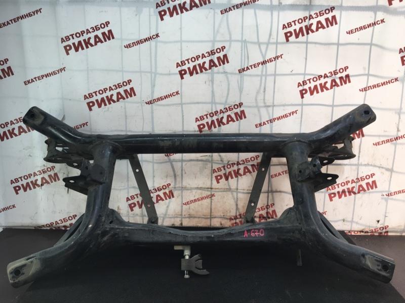 Балка Mitsubishi Asx GA2W 4B11 2011 задняя