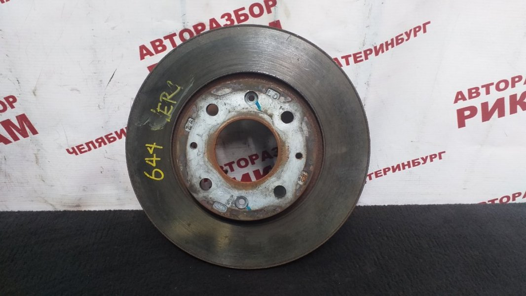 Диск тормозной Kia Cerato LD G4GC 2004 передний левый