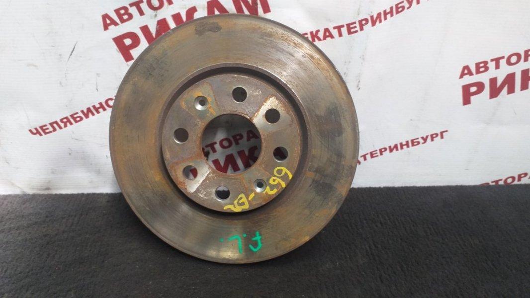 Диск тормозной Fiat Punto 199 350A1000 2013 передний левый