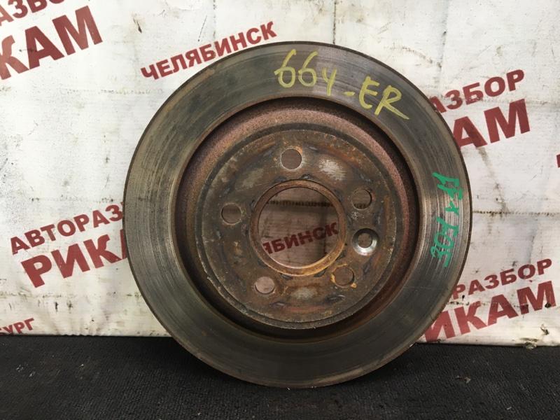 Диск тормозной Ford Mondeo BD SEBA 2007 задний