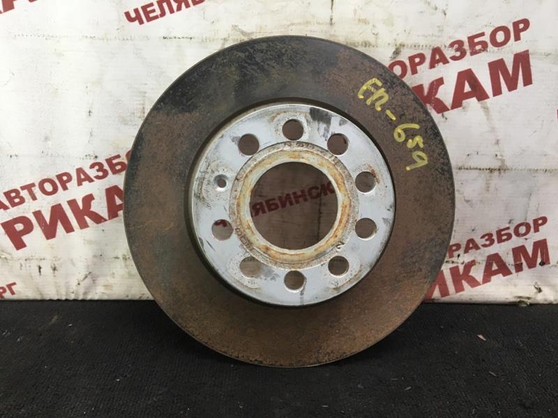 Диск тормозной Skoda Octavia A5 1Z5 CAXA 2012 задний