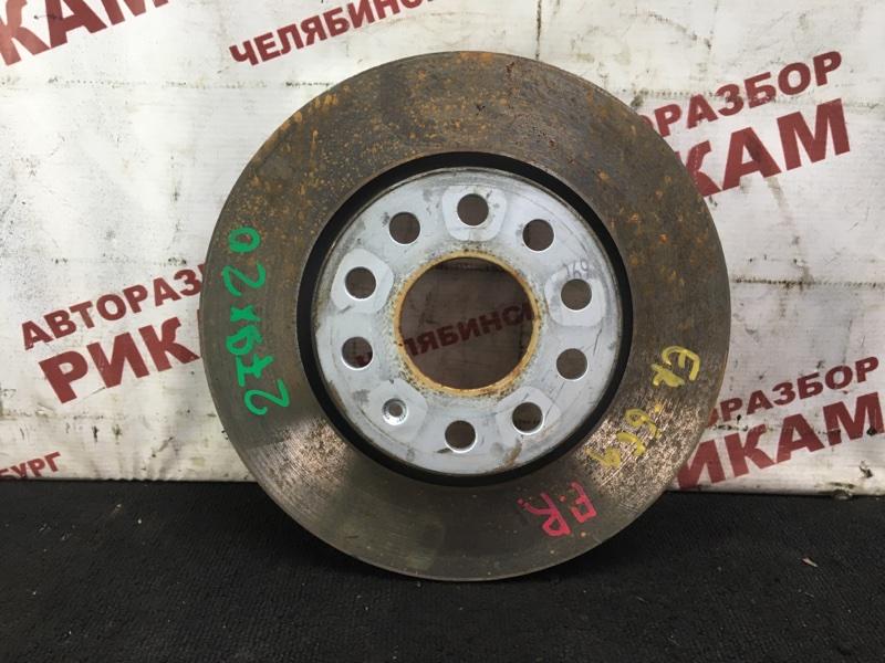 Диск тормозной Skoda Octavia A5 1Z5 CAXA 2012 передний