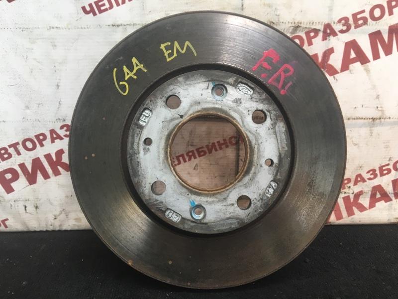Диск тормозной Kia Cerato LD G4GC 2004 передний