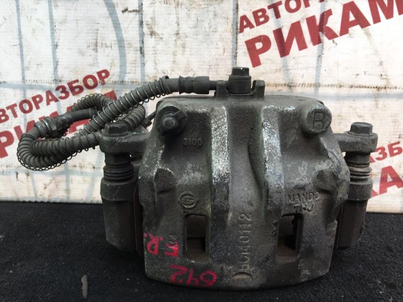 Суппорт тормозной Ssangyong Rexton RJN D27DT 2007 передний правый