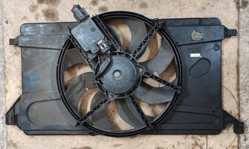 Вентилятор радиатора Ford Focus 2 2008-2010 1.6L 2008 (б/у)
