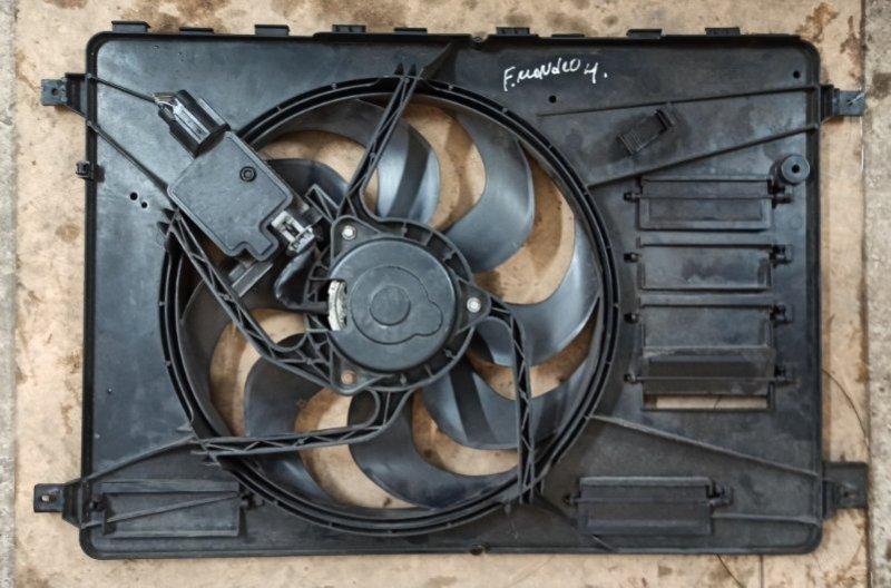 Вентилятор радиатора Ford Mondeo 4 2008-2014 AOBA 2008 (б/у)