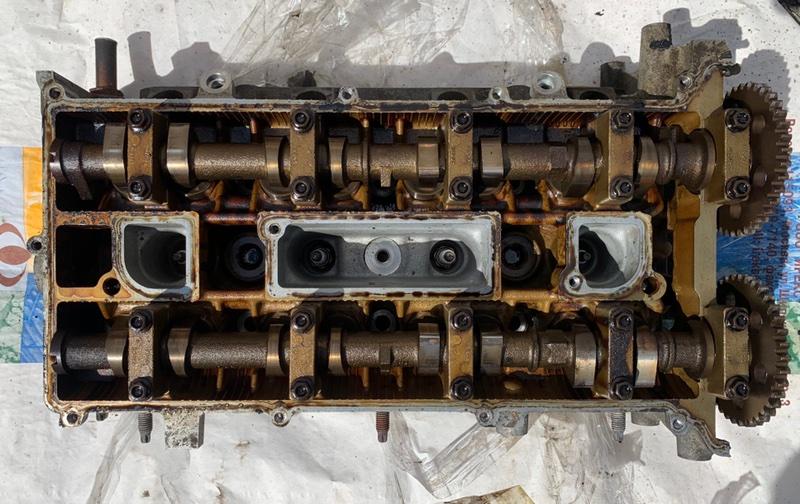 Головка блока цилиндров Ford Focus 2 2008-2010 1.8 QQDB 2009 (б/у)