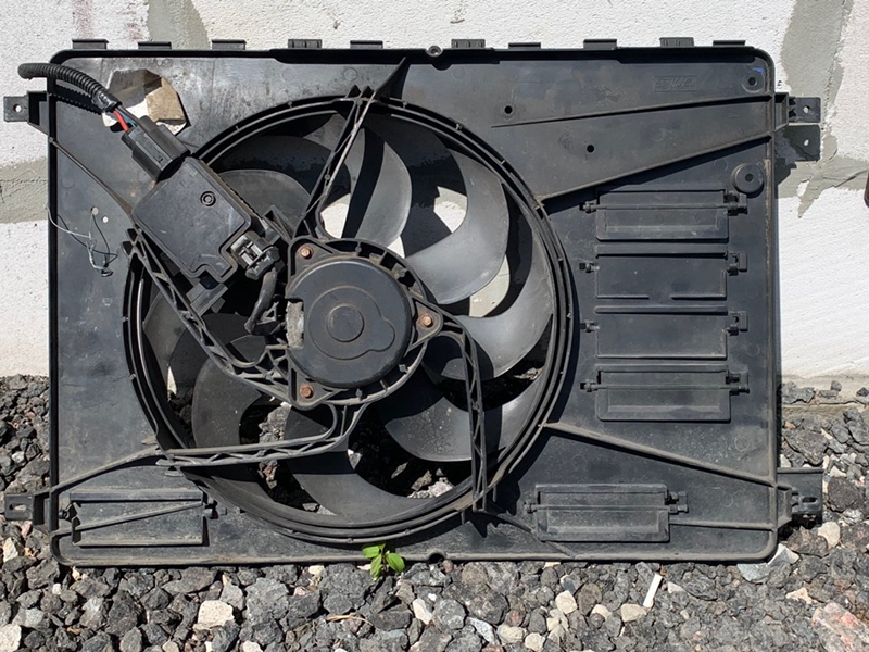 Вентилятор охлаждения Ford Mondeo 4 2007-2014 2.0 TDCI 2012 (б/у)